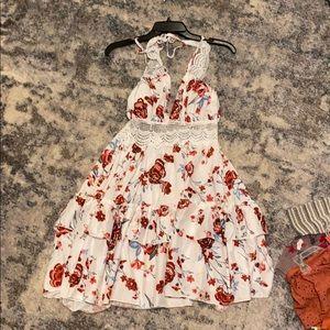 Flowered dress never worn